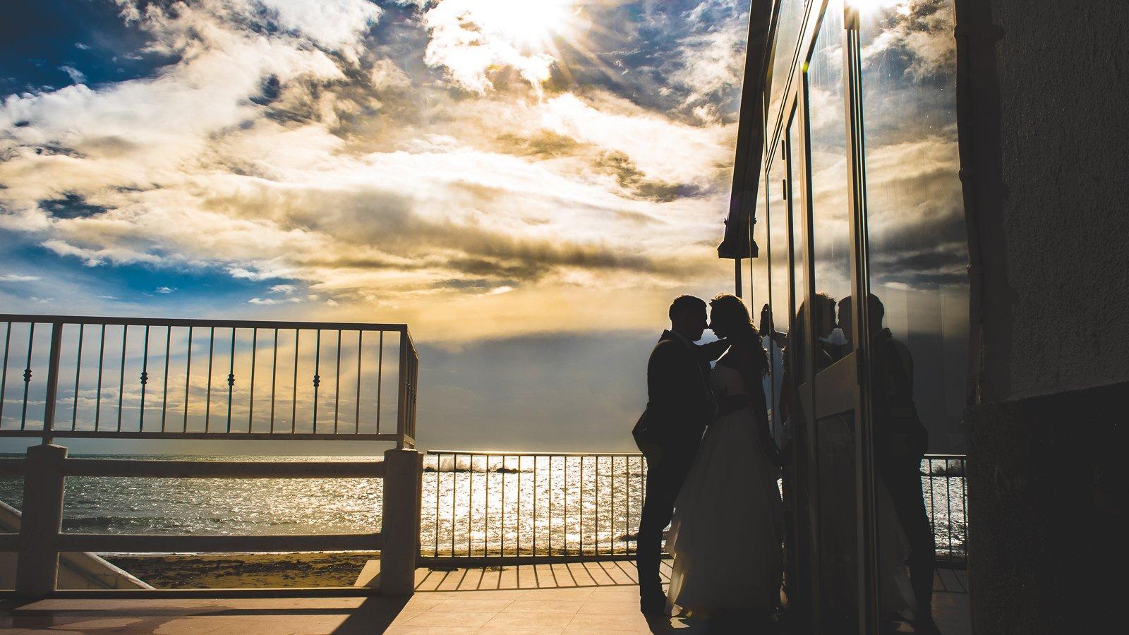 fotografia ślubna plenerowa nad morzem Rzym Włochy